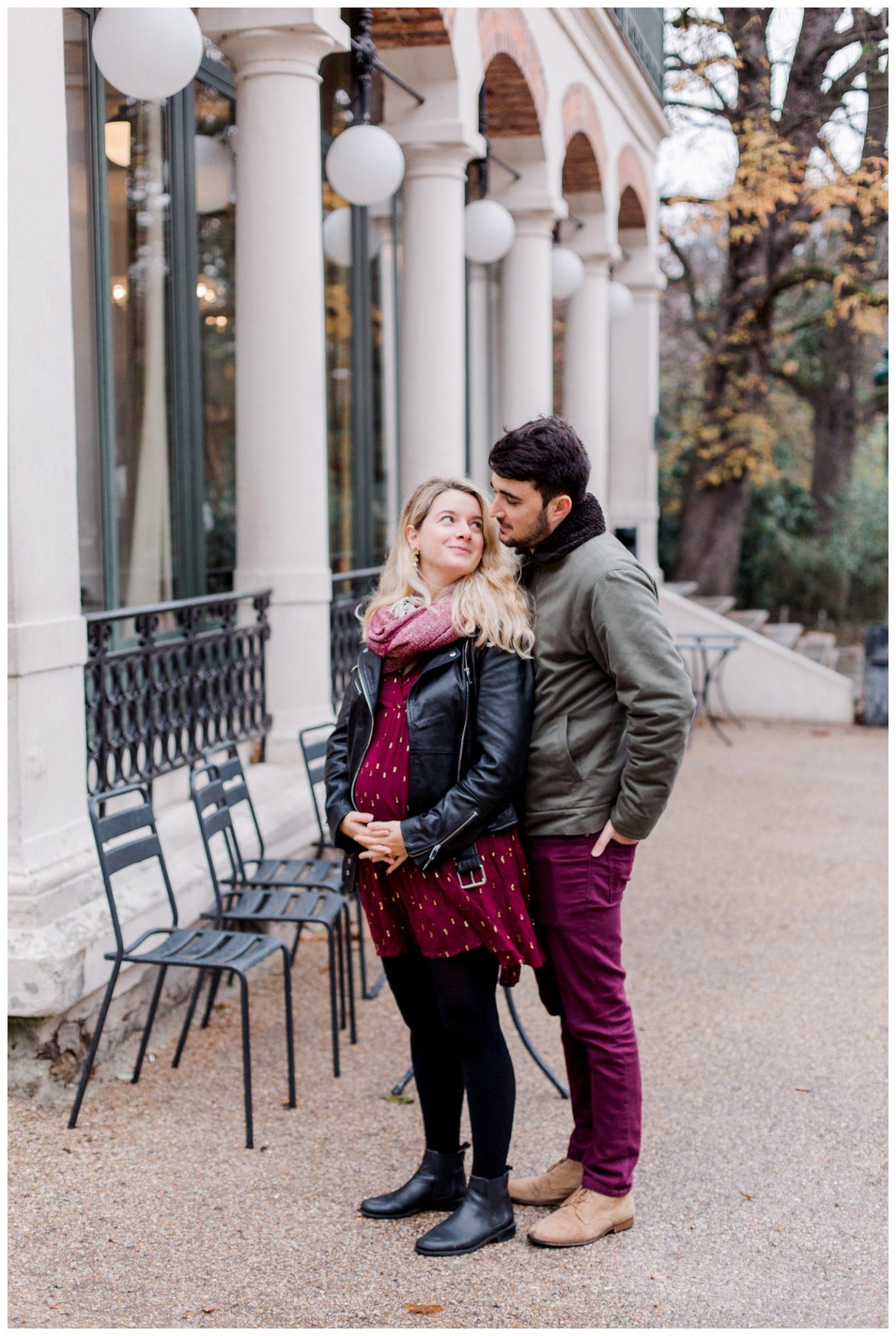 photographe grossesse paris - séance grossesse buttes chaumont