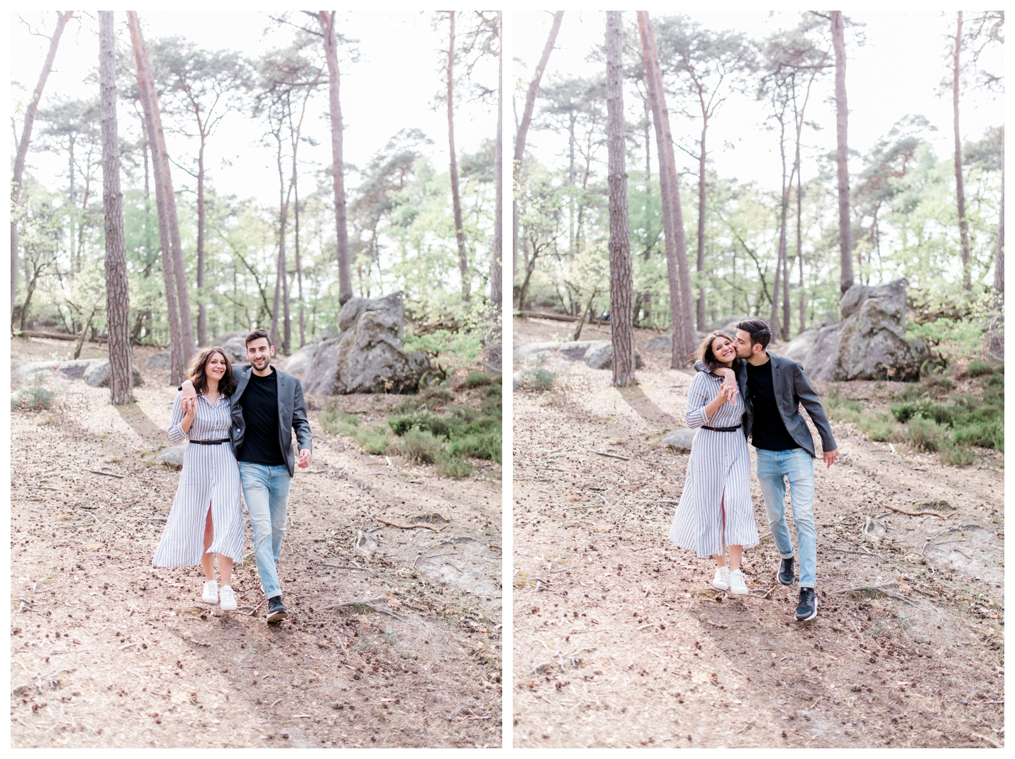 photographe mariage paris_photo engagement couple barbizon